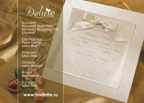 Deluxe Cards Ilfov Invitatii Nunta Meniuri