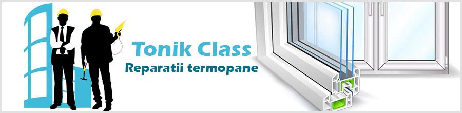 Tonik Class, Tamplarie pvc - Bucuresti Logo