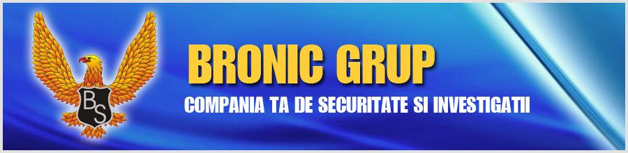 Bronic Security - Agentie Paza si Protectie Bucuresti Logo