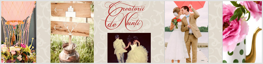 CREATORII DE NUNTI Logo
