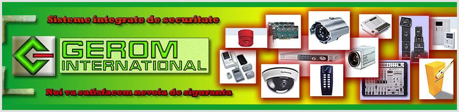 Gerom International - instalare sisteme supraveghere video Bucuresti Logo