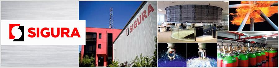 SIGURA TOTAL FIRE & BUILDING ENGINEERING Logo