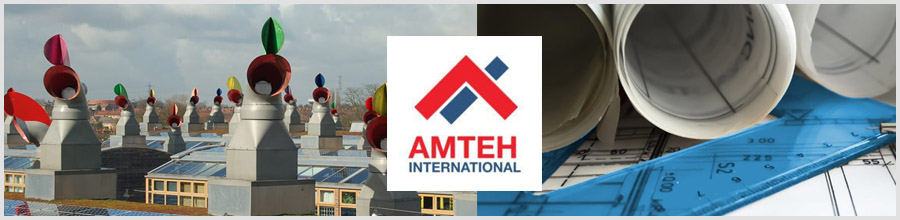 Amteh International Bucuresti - Instalatii climatizare, frigorifice, incalzire Logo