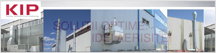 KIP Bucuresti - Ventilatie: incalzire, racire, filtrare, umidificare Logo
