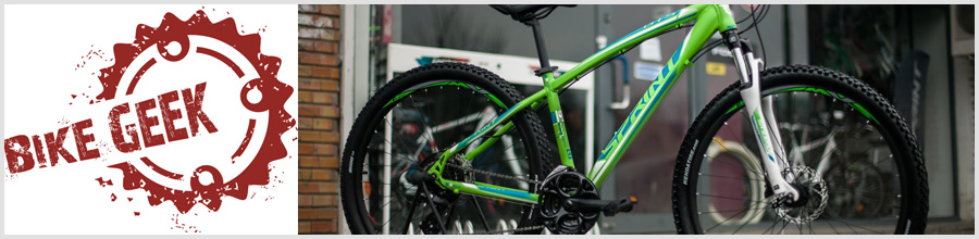 Bike Geek Bucuresti - Vanzare si service biciclete Logo