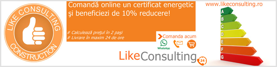 Like Consulting - servicii complete de audit energetic pentru cladiri Logo