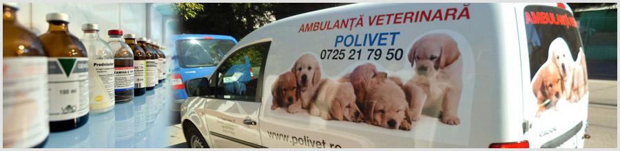 Policlinica Veterinara POLIVET sector 1 Logo