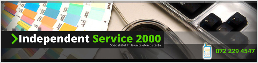 Independent Service 2000 Bucuresti - Web Design si Service IT On-Site Logo