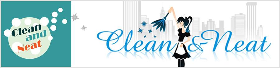 Clean & Neat Servicii de curatenie in Bucuresti Logo