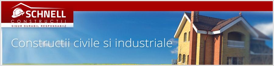 Schnell Constructii - Constructii civile si industriale, Bucuresti Logo
