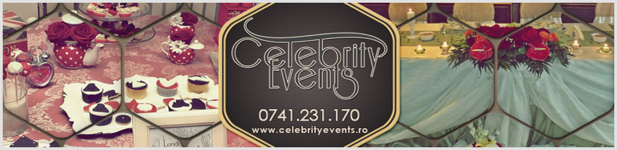 Celebrity Events organizare nunti Craiova Logo