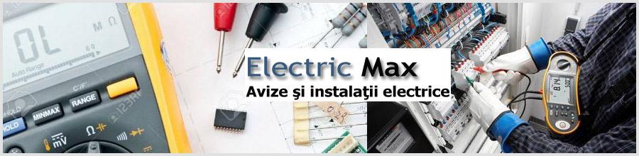 Electric Max Bucuresti - Bransamente si reparatii instalatii electrice Logo