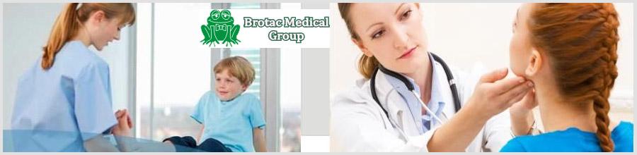 BROTAC MEDICAL CENTER Logo