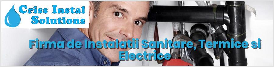Criss Instal Solutions Bucuresti - Instalatii Electrice, Sanitare si Termice - Logo