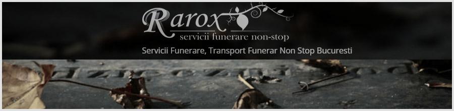 Funerare Rarox - Servicii funerare non-stop Bucuresti Logo