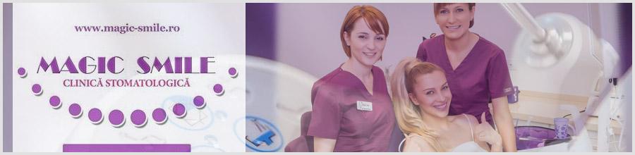 Clinica Stomatologica Magic Smile Sector 1 Bucuresti Logo