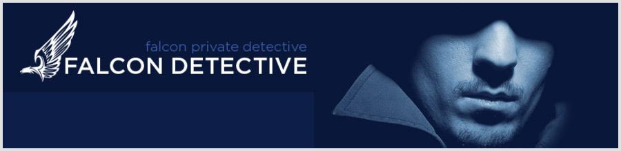 FALCON PRIVATE DETECTIVE Logo