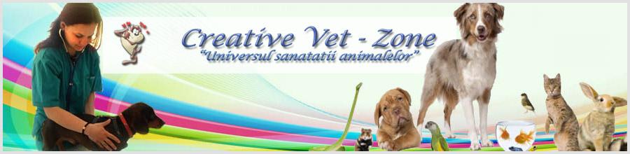 Clinica Veterinara CREATIVE VET ZONE Ghimbav Logo