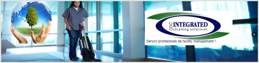 Integrated Cleaning Solutions servicii profesionale facility management Bucuresti Logo