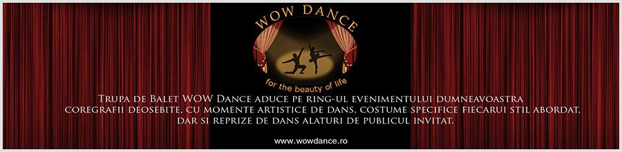 Baletul WOW DANCE Logo