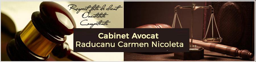 Cabinet Avocat Raducanu Carmen Nicoleta Logo