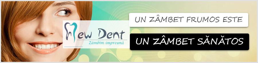 New Dent -cabinet stomatologic- Bucuresti Logo