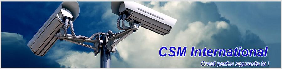 CSM International - servicii de securitate Bucuresti Logo