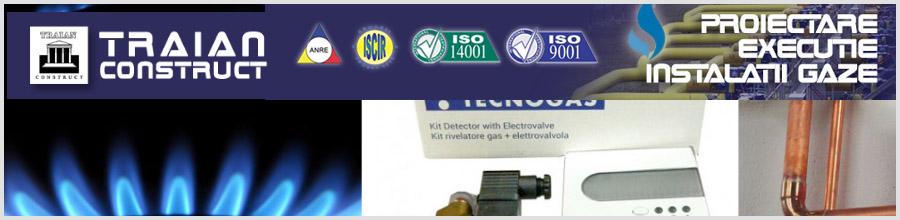 TRAIAN CONSTRUCT instalatii gaze, termice si sanitare Bucuresti Logo
