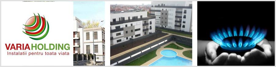 Varia Holding - Proiectare, executie instalatii gaze, termice, sanitare Bucuresti Logo