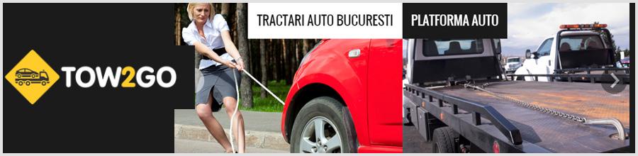 TOW 2 GO tractari auto Bucuresti Logo