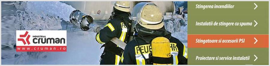 INDUSTRIAL CRUMAN instalatii stingere incendiu Ploiesti Logo