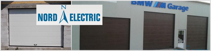 NORD ELECTRIC - Suceava - usi de garaj; usi industriale Logo