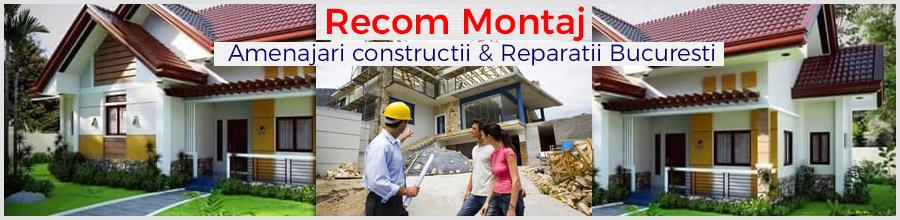 Recom Montaj - Amenajari constructii & Reparatii Bucuresti Logo