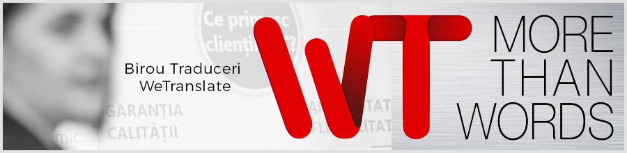 WeTranslate - Birou Traduceri Bucuresti Logo