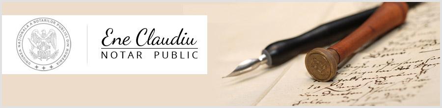 Birou Notarial Bucuresti - ENE CLAUDIU Logo