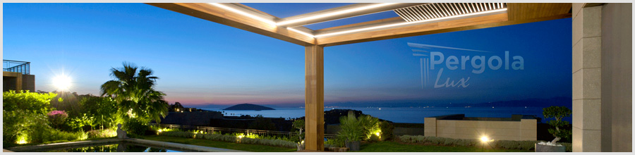 Pergola Lux solutii arhitecturale elegante -pergole cu acoperis retractabil Chiajna Logo