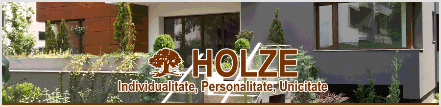 Holze - Ferestre si usi din lemn stratificat, Arad Logo