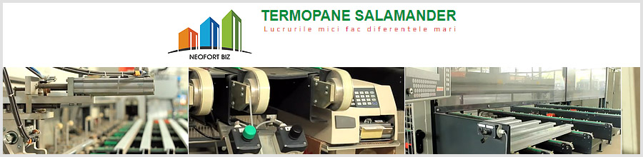 Neofort Biz Tamplarie PVC Salamander clasa A Bucuresti Logo