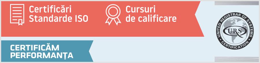 URS ROMANIA certificari calitate, cursuri calificare Bucuresti Logo