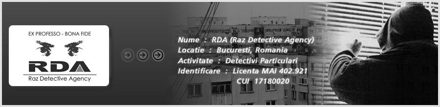 Raz Detective Agency Logo