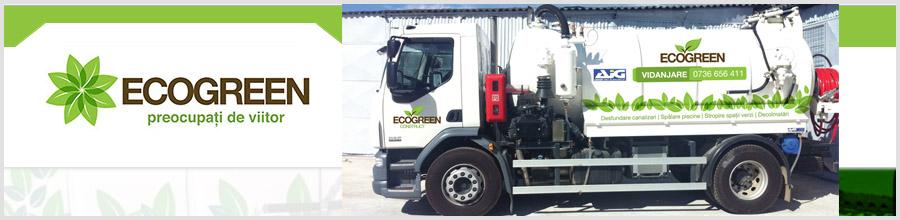 Ecogreen Construct - Salubrizare, vidanjare, intretinere spatii verzi Logo