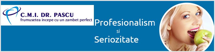 Cabinet stomatologic CMI Dr. Pascu Logo