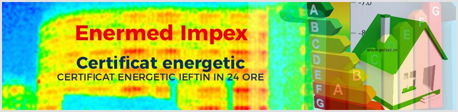Enermed Impex Certificat energetic ieftin in 24 ore Bucuresti, Ilfov, Constanta Logo