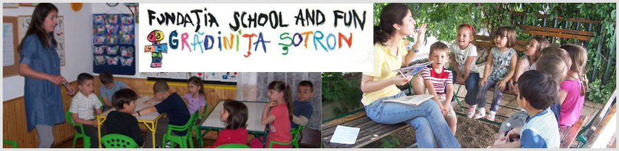 Fundatia School and Fun - Gradinita Sotron Logo