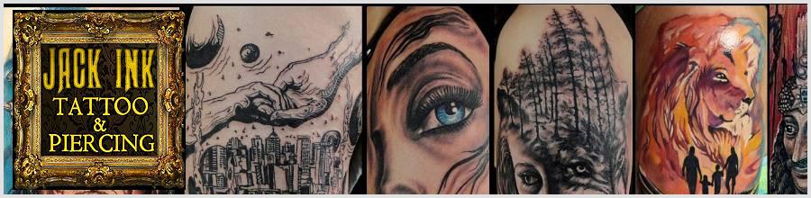 Jack Ink salon profesional de tatuaje si piercing Bucuresti Logo