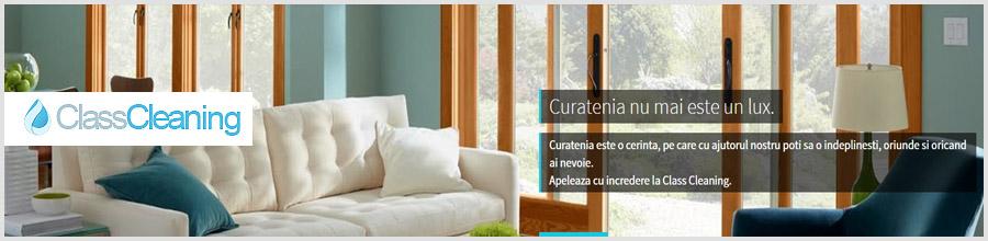 Class Cleaning servicii profesionale curatenie Bucuresti Logo