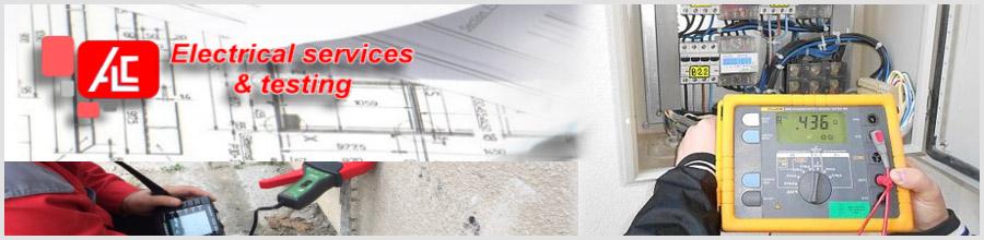 Alc Electrical Testing Bucuresti - Buletine PRAM. Verificari si masuratori PRAM, termoviziune instalatii electrice Logo