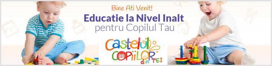 Gradinita Castelul Copiilor din Tei Logo