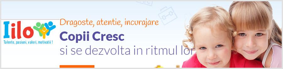 Iilo - Gradinita & After School Bucuresti Logo