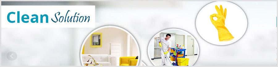 Clean Solution firma de curatenie Bucuresti Logo